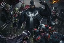 Venom-verse / Venom has always been one of my favorite villains. His powers are not just like Spiderman's, he has the power to bond with anybody and show their dark side