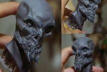 Sculptures & Make-up