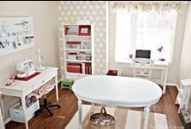 Sweet Creative Spaces / Dreamy crafts rooms