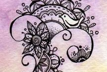 zentangle & mandala art