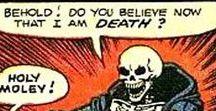 Memento mori / Death comes to us all.