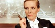 Victor Victoria / Released in 1982, Victor Victoria starred Julie Andrews, Robert Preston and James Garner. Although set in Paris, the film was shot at Pinewood Studios in England U.K. Directed by Julie Andrew's husband Blake Edwards, the film was nominated for and won a number of awards including an Academy Award and a Golden Globe. http://gay-themed-films.com/films-to-watch-victorvictoria/