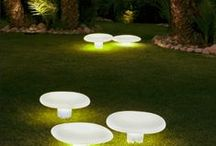 Outdoor / Well-positioned and well-chosen light fixtures in a garden or on a patio will transform an exterior space and create an extended relaxing atmosphere.