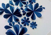 KUVIS kukkia ja paperitaitoksia