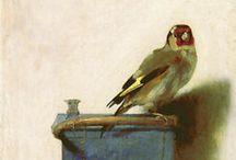 linnut taiteessa
