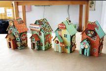 Tiny houses, gardens & dioramas
