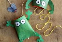 Recycled paper crafts