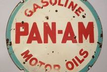 Enamel Signs / Vintage Advertising