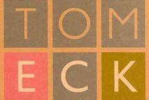 Tom Eckersley / Tom Eckersley's Poster Designs