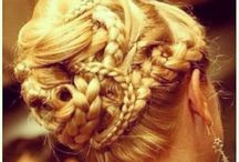 Hair styles and up do's /  Cute simple classy hairstyles and braids