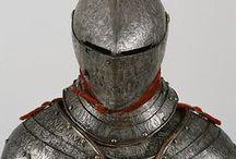 HISTORY | Armor / #armor #breastplate #chamfron #comb #couter #cuisse #dagger #fan-plate #fauld #gauntlet #gorget #greave #helm #pata #pauldron #plackart #poleyn #rerebrace #sabaton #savandenakker #shield #sword #tasset #vambrace #visor