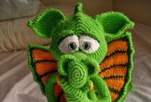 Crochet toys (Zabawki szydełkowe)