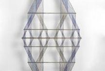 fiber art / works of fiber art
