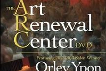 The Art Renewal Center DVD / Art Renewal Center and Streamline Publishing (Fine Art Connoisseurand Plein Air Magazines) released the first ARC DVD December of 2013. The almost 5 hour video was  produced by Streamline Art Video and features a step-by-step demonstration by Orley Ypon, 2012/2013 Best of Show Winner. The video also contains an in-depth interview with ARC founder Fred Ross, a tour of the Ross Collection, and a video exhibit of all the finalists and winners in the 2012/2013 ARC Salon.
