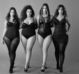 KALENDARZE - CURVY CALENDARS / Our favorite New Year Calendars with plus size fashion. We should be proud of ourselves and our bodies all year round! #calendar #plussize #curvy #fashion #art