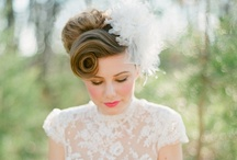 vintage wedding inspiration / ideas and inspiration for vintage style weddings