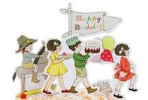 party | children / inspiration for party invitations, decoration, activities and birthday treats