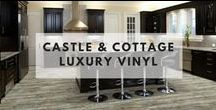Castle & Cottage Luxury Vinyl / Castle & Cottage Hallmark Luxury Vinyl Flooring Collection