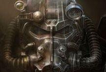"Fallout / Fallout game series. ""War. War never changes"""