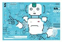 Technologic way / Technologic illustrations