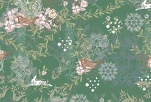 Pattern / Patterns, Surface Pattern Amy Lucy / Amy Lucy Design pattern design, floral pattern designs, contemporary pattern designs, ceramic design, designer kitchen ware,