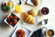 Breakfast and Brunch / Whether you're looking for your morning coffee, a sweet treat, or have a little bit more time for a specialty sandwich and a champagne brunch, we are the place to provide you with any need!