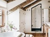 home. / Clean, boho, eclectic, classic, rustic home decor inspiration.