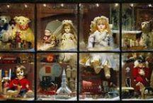 Christmas  window display / χριστουγεννιάτικες βιτρίνες