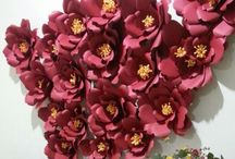 • Creative • Paper Flowers •