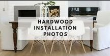 Hardwood Installation Photos / These photos are sent in by home owners, architects, designers & retailers who have installed Hallmark Floors