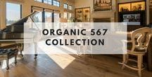 Organic 567 Collection / Historic wood floors of timeless beauty. Welcome to our journey down a road to a simpler, more holistic approach to wood flooring. A blending of natural, vintage materials into contemporary living environments, that complements the latest design trends. The Organic 567 Collection skillfully combines today's fashions and colors with the naturally weathered visuals of reclaimed wood. Fusing modern production techniques with those of antiquity.