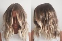 Hair Color We Love / Color, cuts, and styles we love!