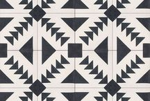 pattern. / Pretty patterns, from where I stand, geometric tile