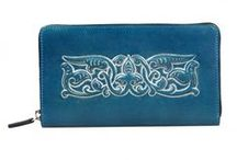 Women´s wallets / It´s about embossed leather wallet