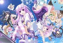 Hyperdimension Neptunia / Anime / game series that I like alot