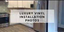Luxury Vinyl Installation Photos / These photos are sent in by home owners, architects, designers & retailers who have installed Hallmark Floors