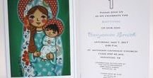 Girl christening invitation Girl baptism invitation Christening invitation Baptism invites Bautizo