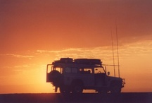 Land Rovers in Africa