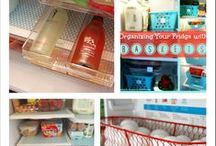Cleaning & Organizing My House / Home organization, decluttering, finding a place for everything, DIY cleaning supplies.
