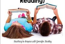 Reading / Everything elementary reading: read alouds, author studies, book clubs, guided reading, reading strategies, decoding...