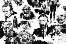 Character Design / Drawing / Character design / concept art / games / comics