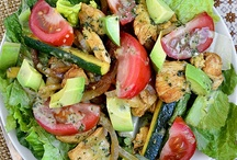 Eat Healthy / Collection of foods for healthy eating.  fitness, vegetarian, gluten-free, or just plain good for you.