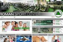 Roman Sport Center / Esclusivo Fitness Club con due palestre a Roma, Villa Borghese e Viale Somalia, dove tecnologia, eleganza e design creano il clima giusto per chi ama lo sport e desidera provare il piacere di sentirsi davvero in forma.