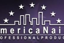 """AmericaNails  / AmericaNails è: Corsi professionali per unghie (ricostruzione e NailArt) e Vendita diretta e all'ingrosso di prodotti brevettati """"AmericaNails Professional Products""""."""