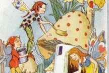 Faeries and Pixie Dust / The magic world of fairies, elves and pixies.  / by Cathy Sacco