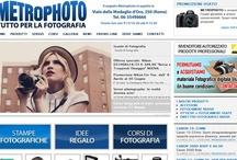 Metrophoto / Storico centro per la Fotografia a Roma: vendita Fotocamere/Videocamere e accessori, Sviluppo foto, Corsi e workshop di fotografia