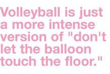 Volleyball! / favorite sport!