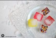 Iced up / Ice as an inspiration for food presentation designs