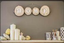 Wood & Light / Todo tipo de creaciones en madera procedente de podas para la decoración del hogar.  www.woodandlight.es