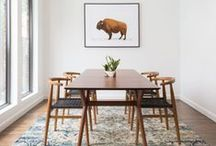 Stylish dining rooms / Décor ideas and inspiration for your dining room